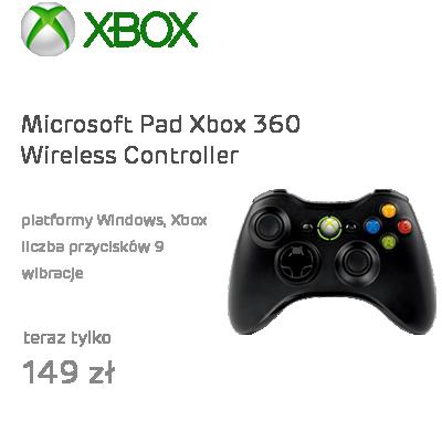 Microsoft Pad XBOX 360 Wireless Controller (Windows & XBOX)
