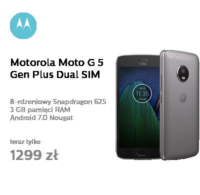 Motorola Moto G 5 Gen Plus 3/32GB Dual SIM szary