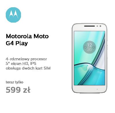 Motorola Moto G4 Play LTE Dual SIM biały