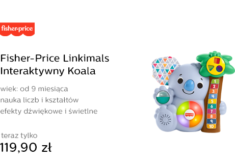 Fisher-Price Linkimals Interaktywny Koala