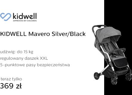 KIDWELL Mavero Silver/Black