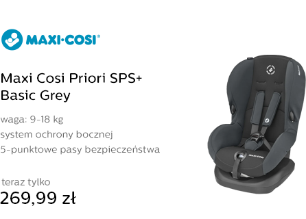 Maxi Cosi Priori SPS+ Basic Grey