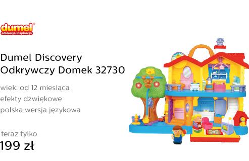 Dumel Discovery Odkrywczy Domek 32730