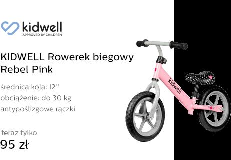 KIDWELL Rowerek biegowy Rebel Pink