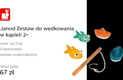 Janod Zestaw do wędkowania w kąpieli 2+