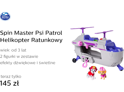 Spin Master Psi Patrol Helikopter Ratunkowy