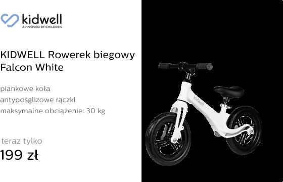 KIDWELL Rowerek biegowy Falcon White