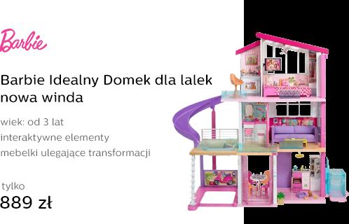 Barbie Idealny Domek dla lalek nowa winda