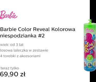 Barbie Color Reveal Kolorowa niespodzianka #2