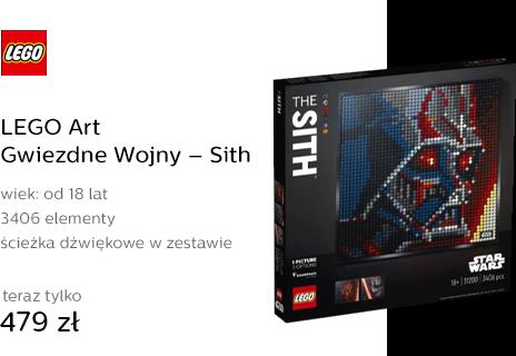 LEGO Art Gwiezdne Wojny – Sith