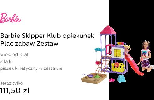 Barbie Skipper Klub opiekunek Plac zabaw Zestaw