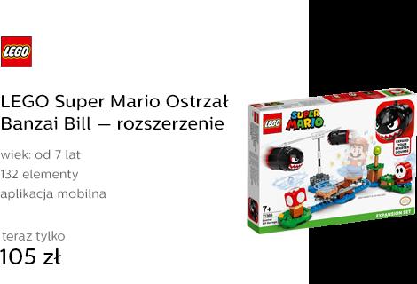 LEGO Super Mario Ostrzał Banzai Bill — rozszerzeni
