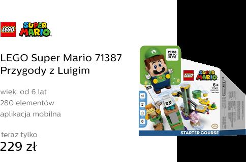 LEGO Super Mario 71387 Przygody z Luigim