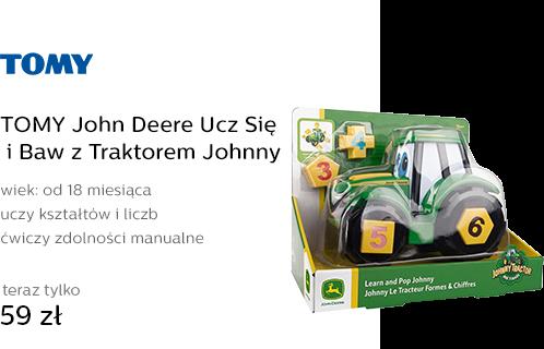TOMY John Deere Ucz Się i Baw z Traktorem Johnny