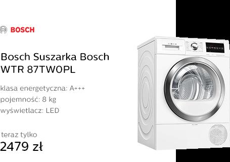 Bosch Suszarka Bosch WTR 87TW0PL