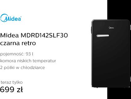 Midea MDRD142SLF30 czarna retro