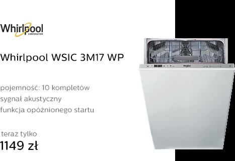 Whirlpool WSIC 3M17 WP