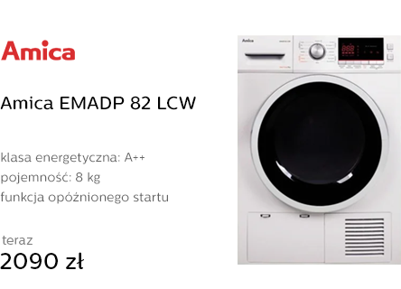 Amica EMADP 82 LCW