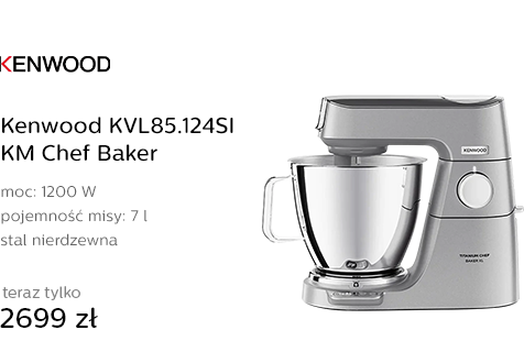 Kenwood KVL85.124SI KM Chef Baker