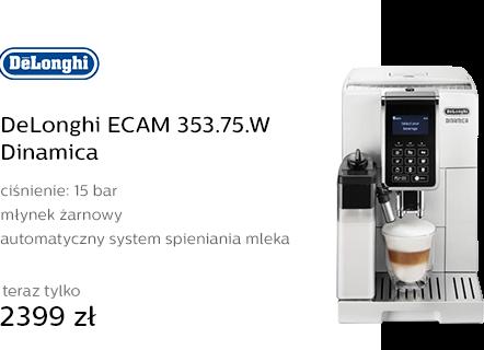 DeLonghi ECAM 353.75.W Dinamica