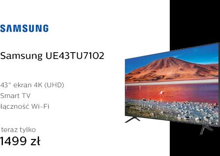 Samsung UE43TU7102