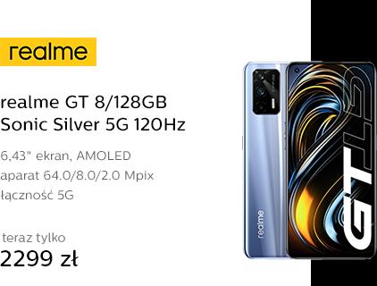 realme GT 8/128GB Sonic Silver 5G 120Hz