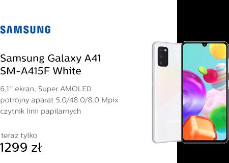 Samsung Galaxy A41 SM-A415F White