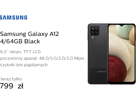 Samsung Galaxy A12 4/64GB Black