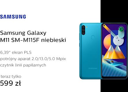 Samsung Galaxy M11 SM-M115F niebieski
