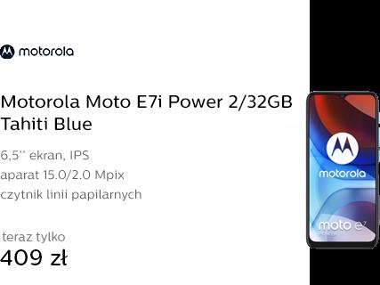 Motorola Moto E7i Power 2/32GB Tahiti Blue