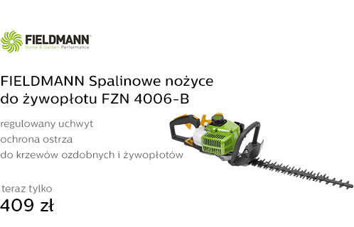 FIELDMANN Spalinowe nożyce do żywopłotu FZN 4006-B