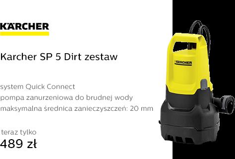 Karcher SP 5 Dirt zestaw