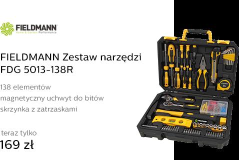 FIELDMANN Zestaw narzędzi FDG 5013-138R