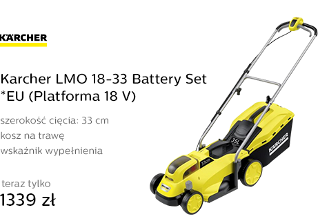 Karcher LMO 18-33 Battery Set *EU (Platforma 18 V)