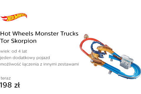 Hot Wheels Monster Trucks Tor Skorpion