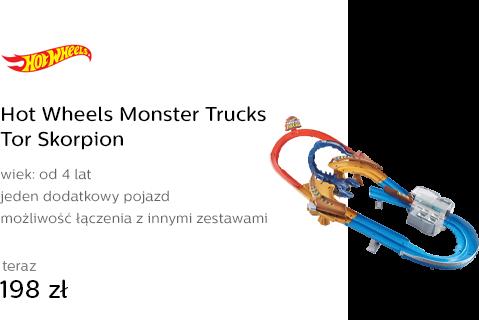 Hot Wheels Monster Trucks Tor Skorpion