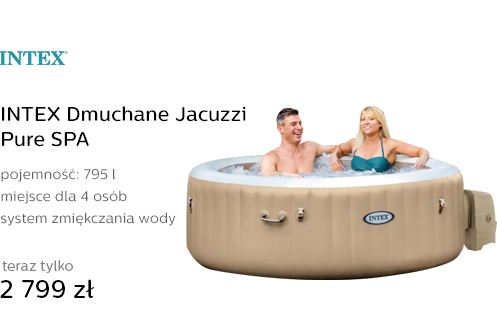 INTEX Dmuchane Jacuzzi Pure SPA
