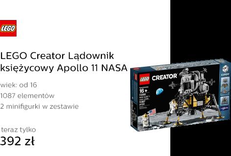 LEGO Creator Lądownik księżycowy Apollo 11 NASA