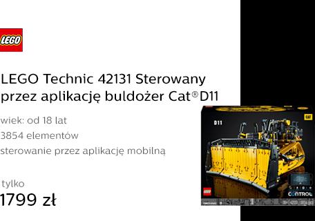 LEGO Technic 42131 Sterowany przez aplikację buldo