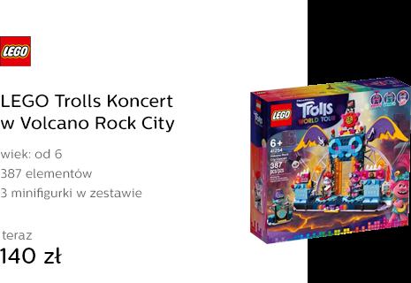 LEGO Trolls Koncert w Volcano Rock City