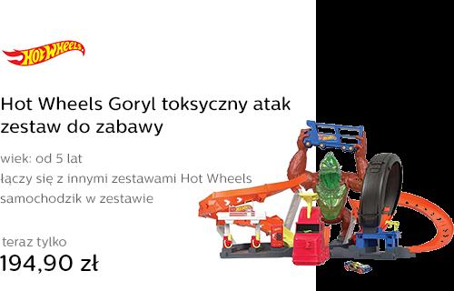 Hot Wheels Goryl toksyczny atak zestaw do zabawy