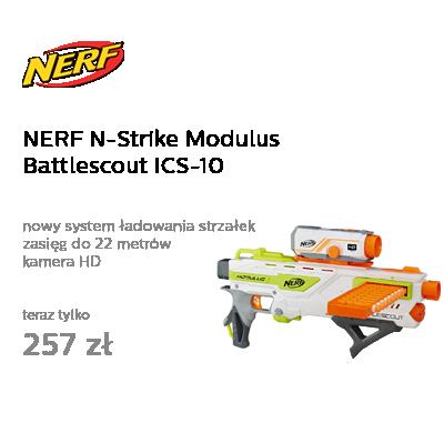 NERF N-Strike Modulus Battlescout ICS-10