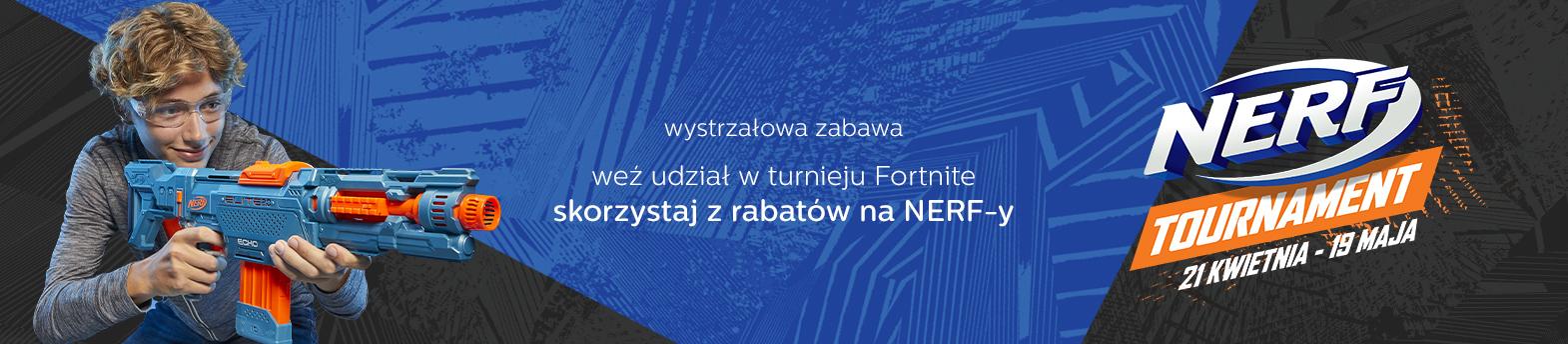 turniej NERF FORTNITE