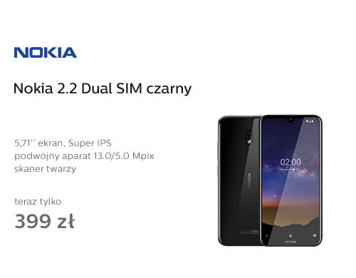 Nokia 2.2 Dual SIM czarny