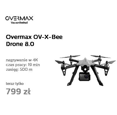 Overmax OV-X-Bee Drone 8.0 WiFi 4K