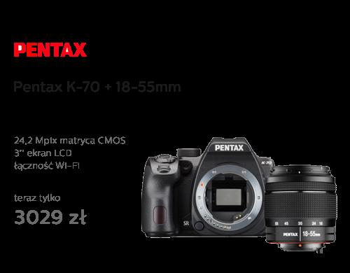 Pentax K-70 + 18-55mm