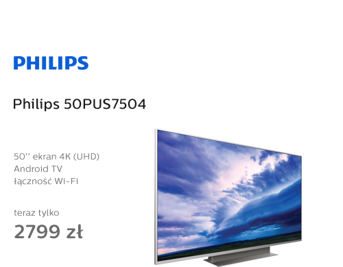 Philips 50PUS7504