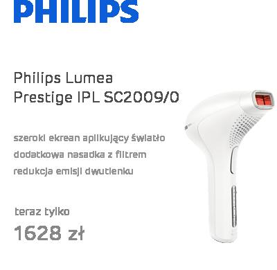 Philips Lumea Prestige IPL SC2009/00 biała