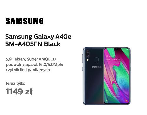 Samsung Galaxy A40 SM-A405FN Black