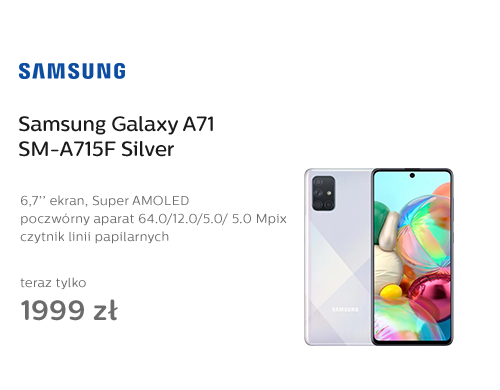 Samsung Galaxy A71 SM-A715F Silver